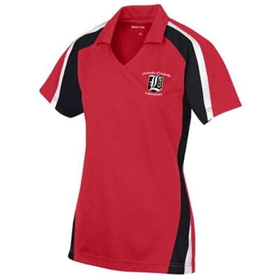 LW133<br>Ladies Tri-color Polo