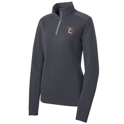 LW135<br>Ladies 1/4 Zip Pullover