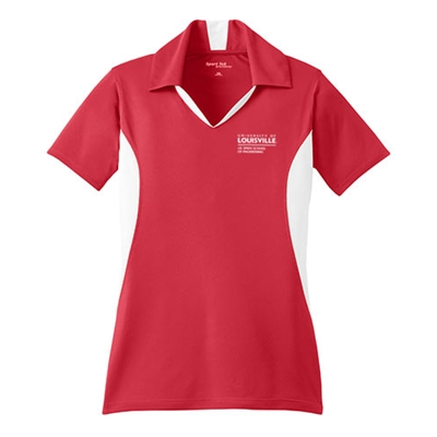 JB133<br>Ladies Tri-color Polo