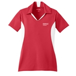 JB212<br>Ladies Side Blocked Sport Wick Polo