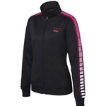 JB104<br>Ladies Dot Sublimated Tricot Jacket